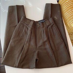 Vintage Giorgio Sant Angelo High Waist Linen Pants